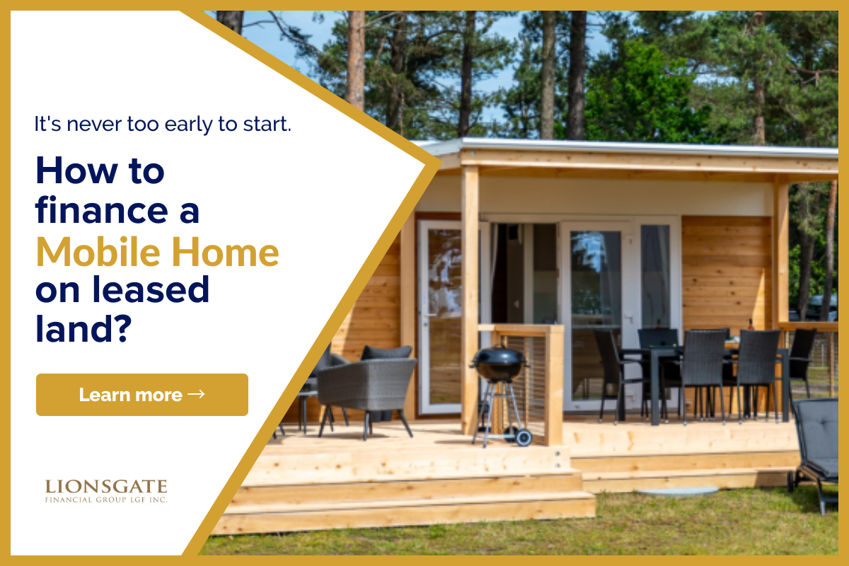 Leased Land Mobile Home Financing