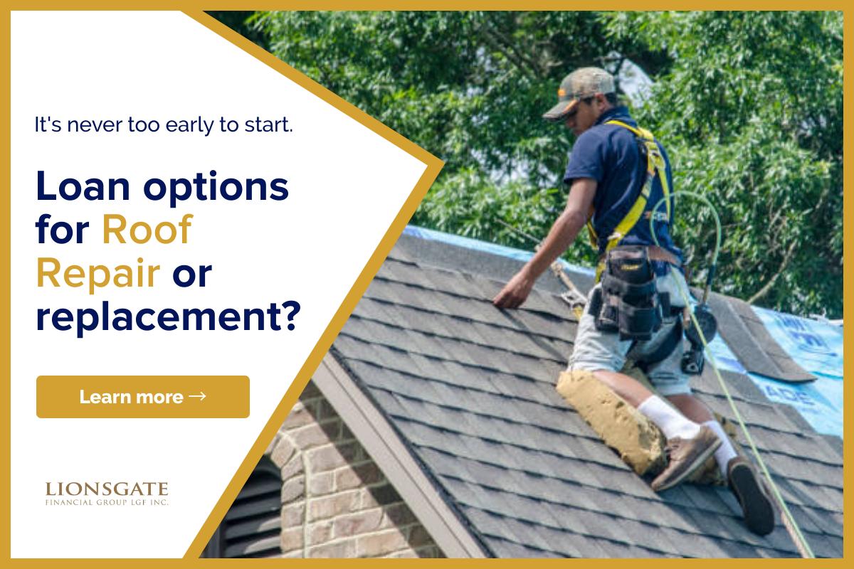 Roof Repair Loan Options