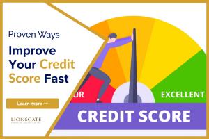 improve your credit score fast