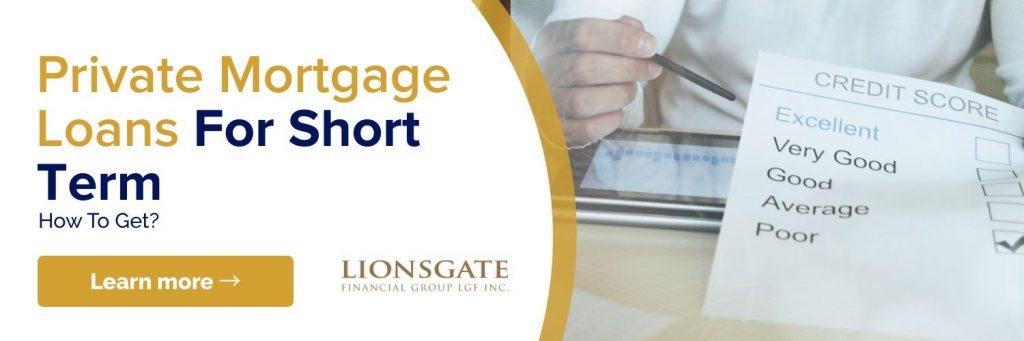 Private Mortgage Loans