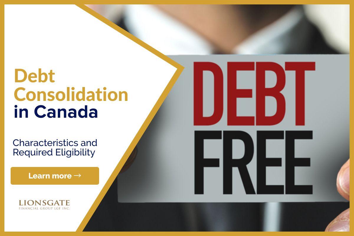 Debt Consolidation In Canada