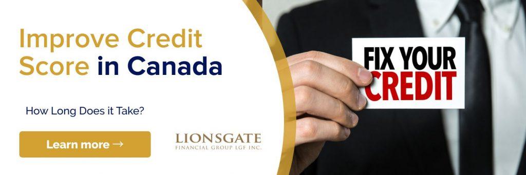 improve credit score in canada